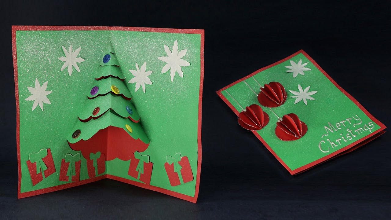 3D Christmas Greeting Card