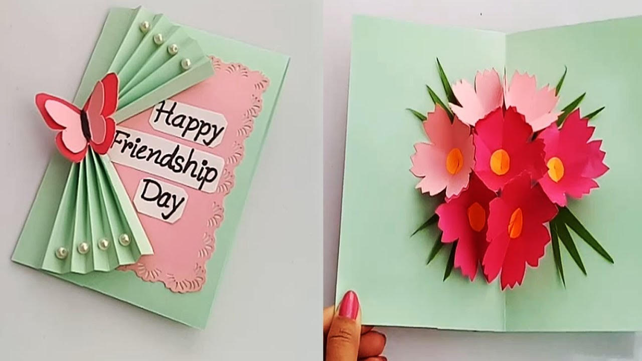 7 Greeting Card Making Ideas for Friendship Day
