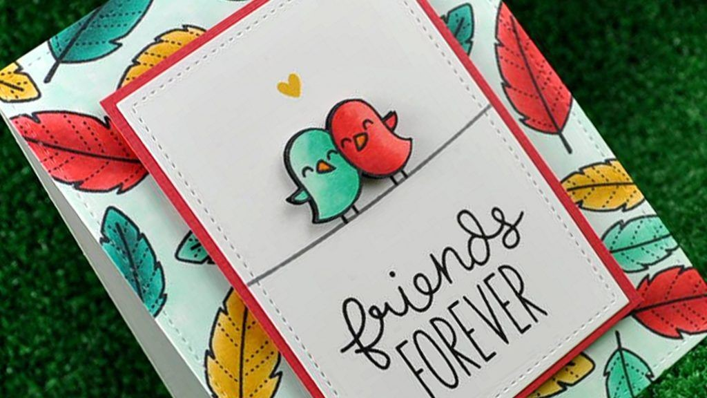 Cute DIY forever Friendship day Card