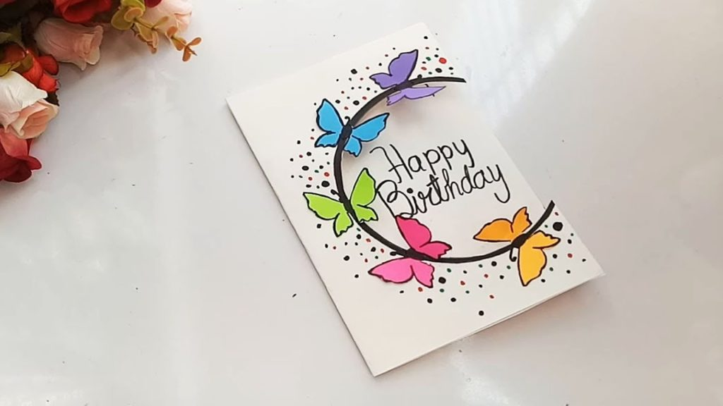 6 Diy Birthday Card Ideas For Best Friend Step By Step