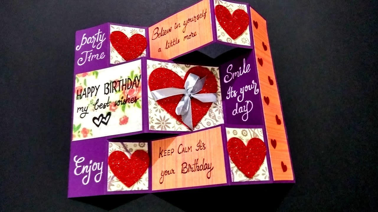 13 Handmade Birthday Card Ideas For