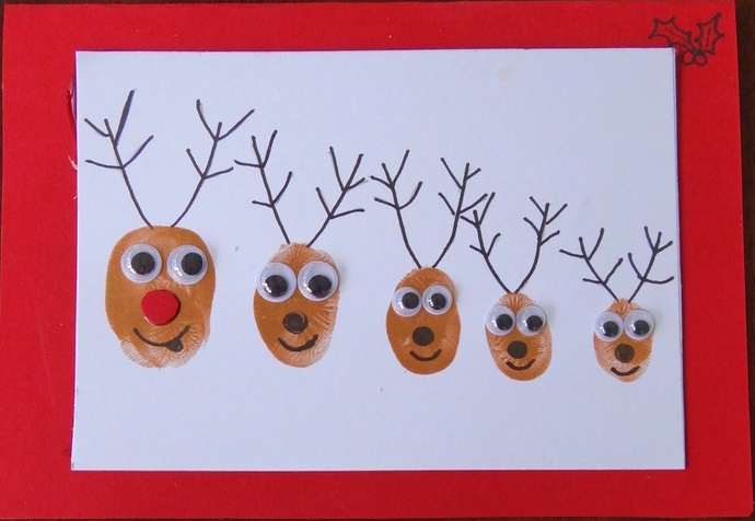 9 Christmas Card Ideas For Toddlers