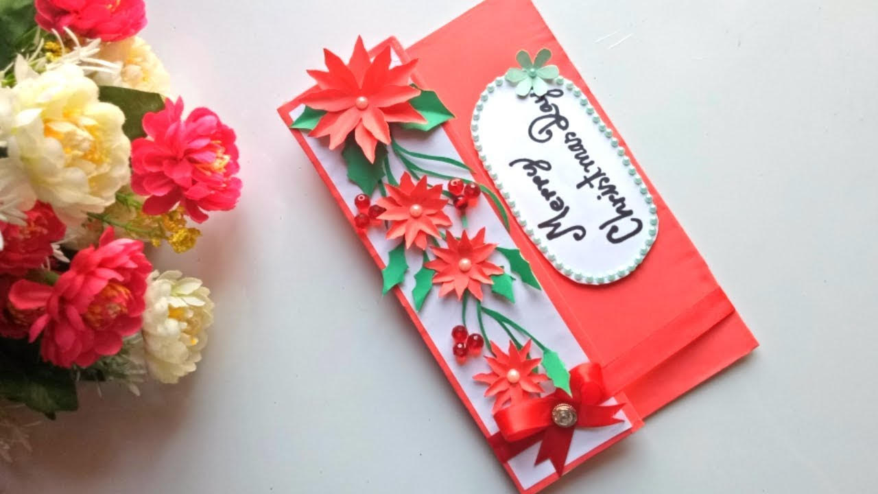 5 Diy Christmas Cards How To Make Easy Christmas Cards At Home