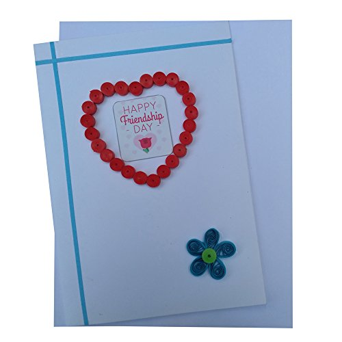 Happy Friendship Day Handmade Greeting Card