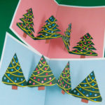Pop Up Art Christmas Card