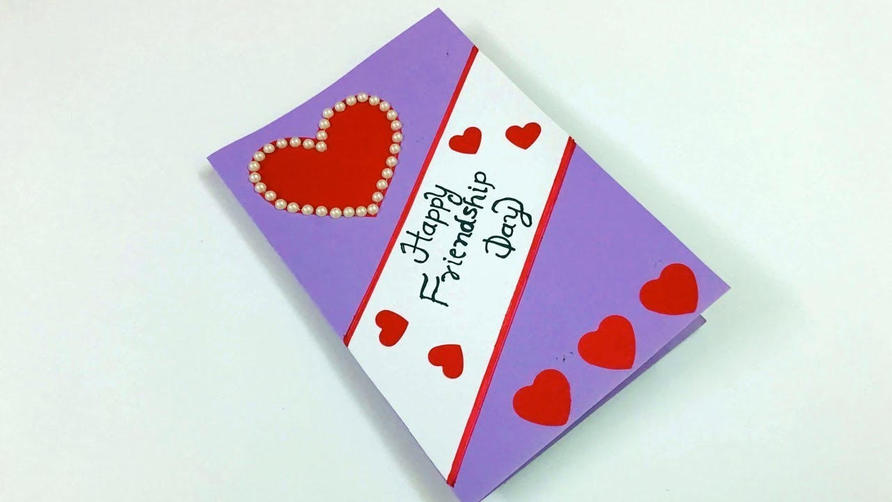 Simple DIY Heart Cards for friendship Day