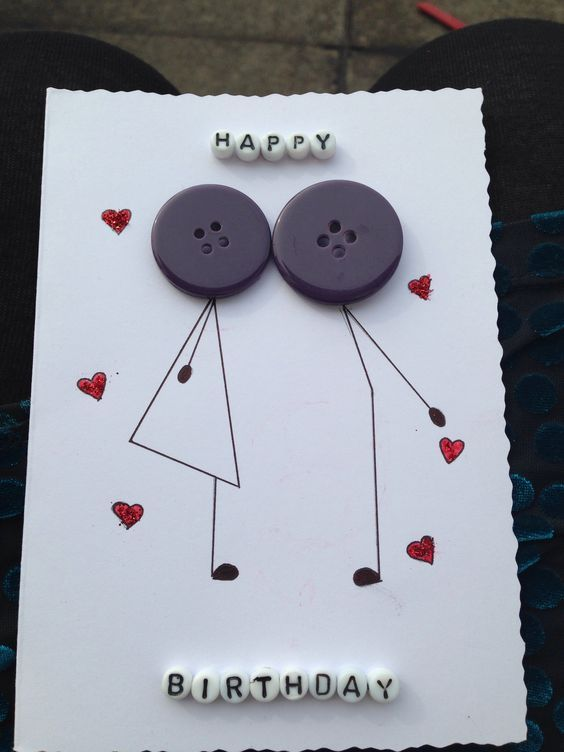 best DIY card for BF