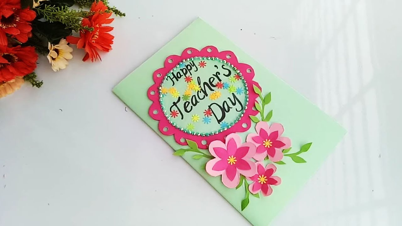 Creative Greeting Cards Teachers Day