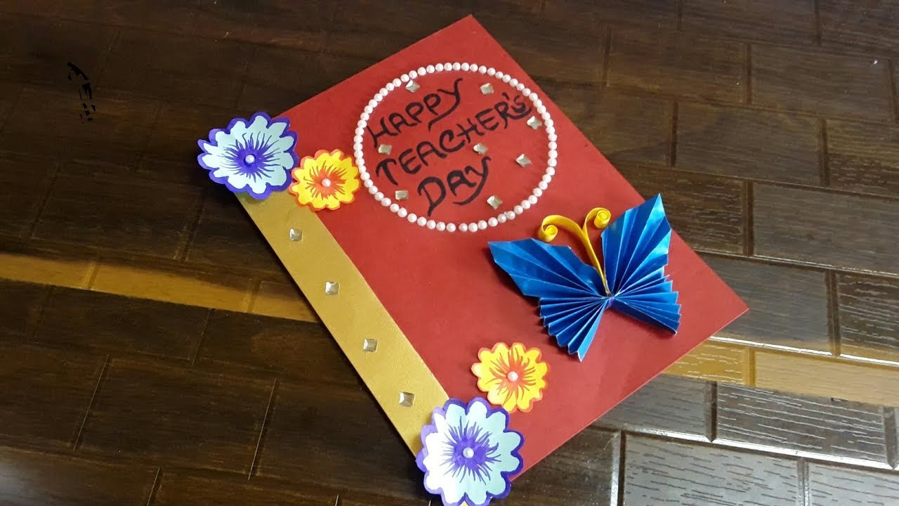 DIY Happy Teachers Day Card