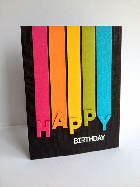 Handmade Birthday Cards for Friends to Make in 5 Minutes