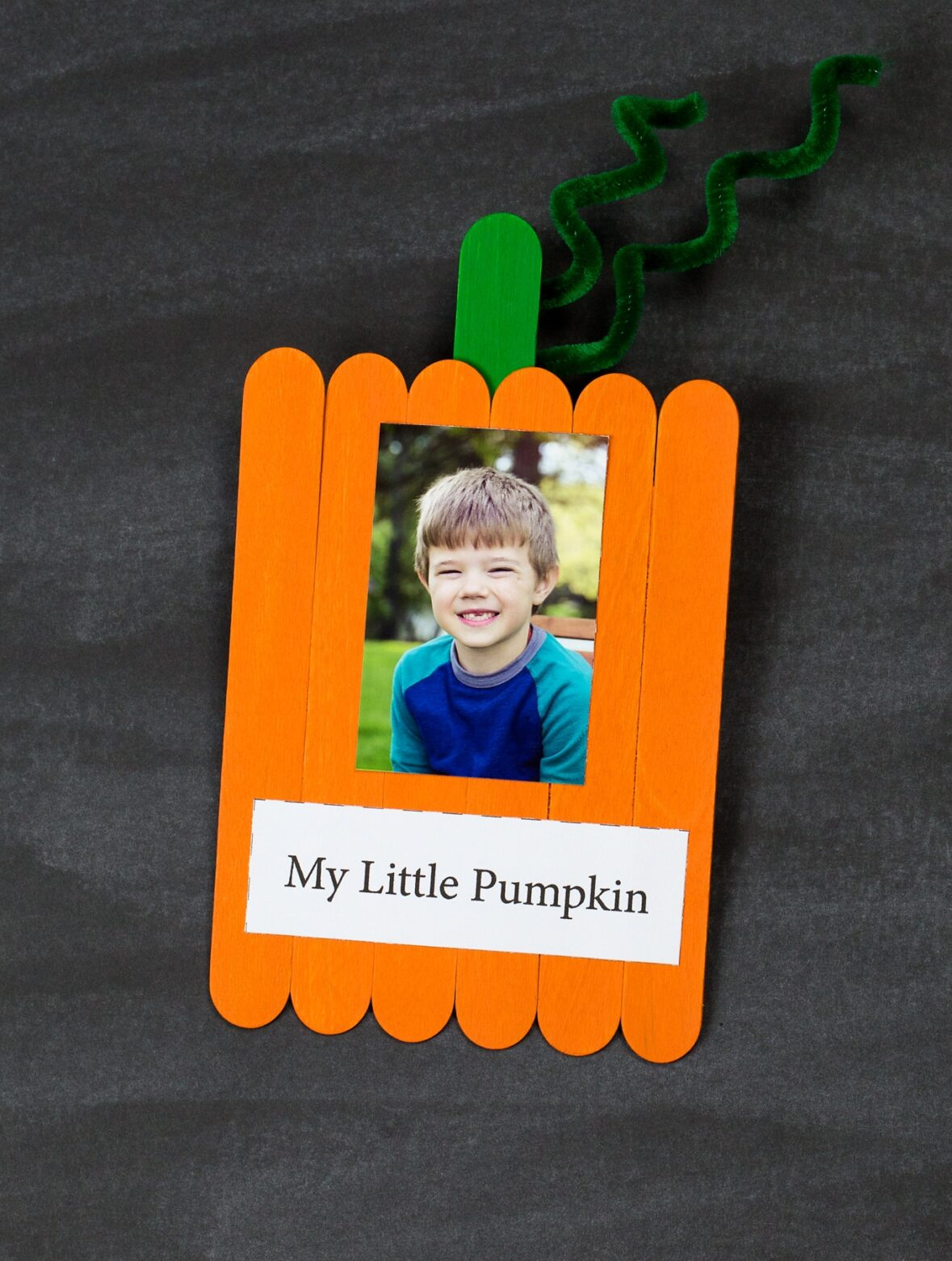 Handmade Pumpkin Carving Party Invite