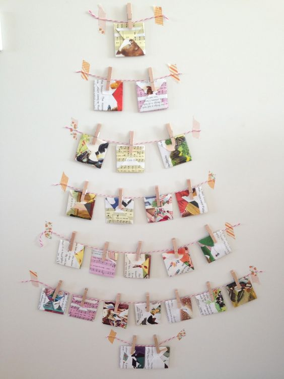 Card Display Christmas Tree