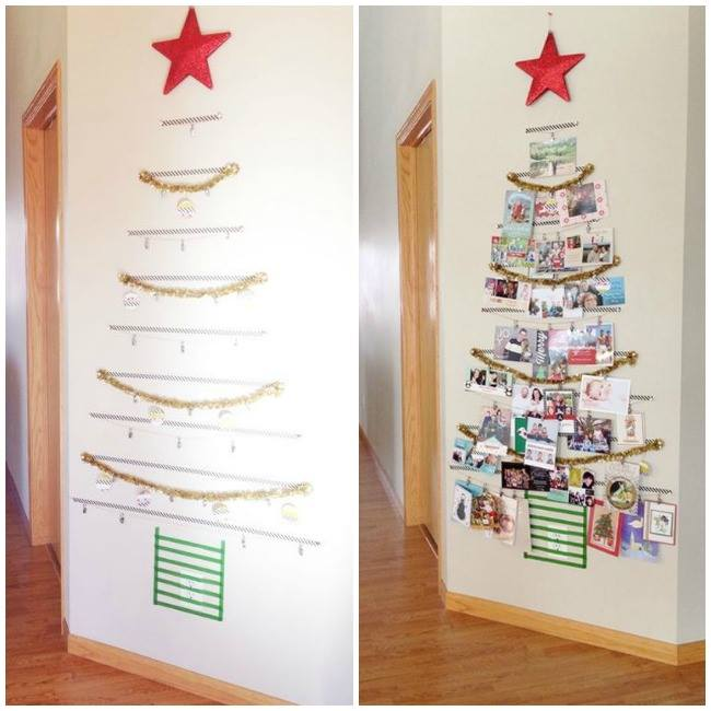 Christmas Cards Display Tree