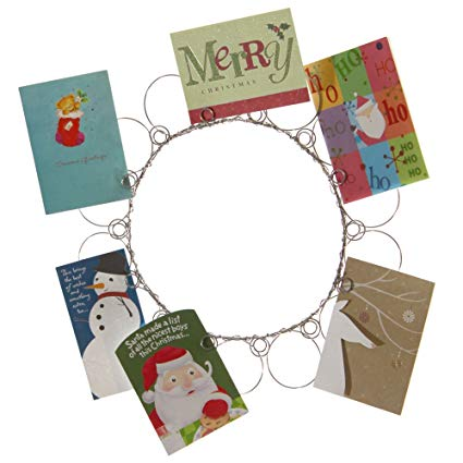 Christmas Wreath Card Holder