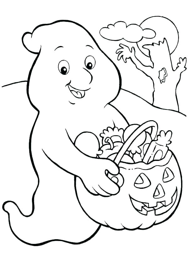 Halloween Coloring Pictures 4