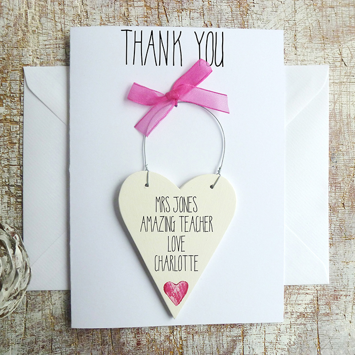 Thank You Card For Teacher Handmade