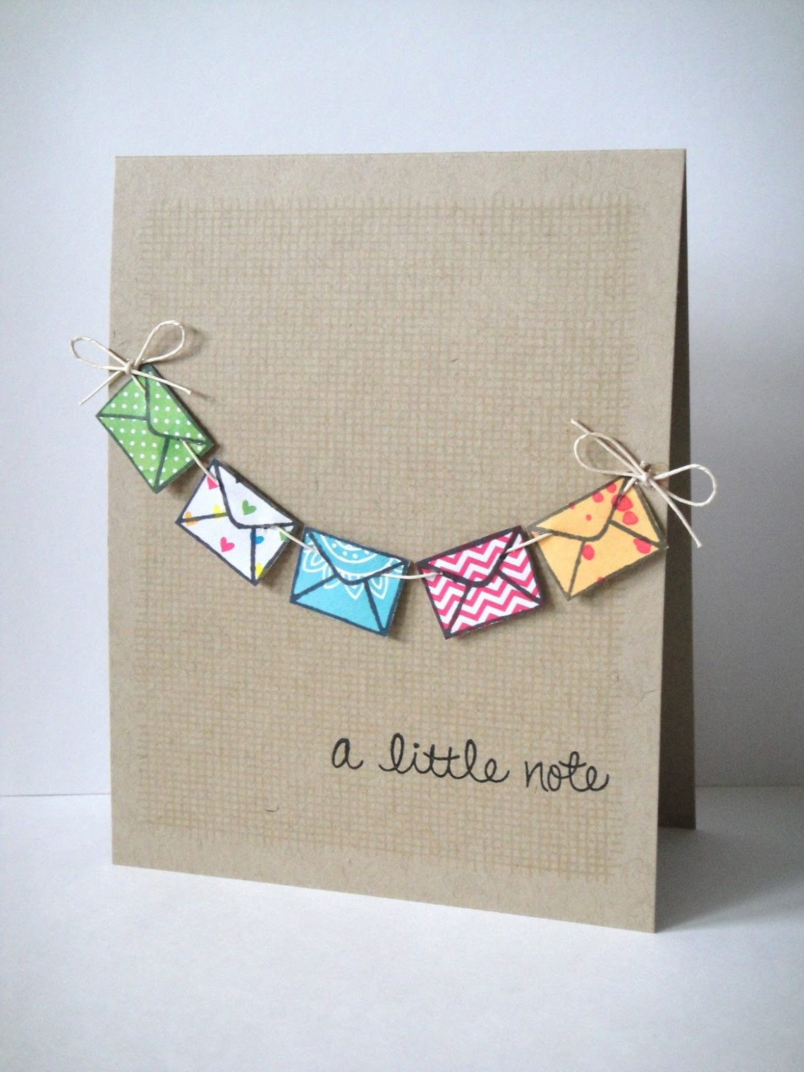 Diy Message Card