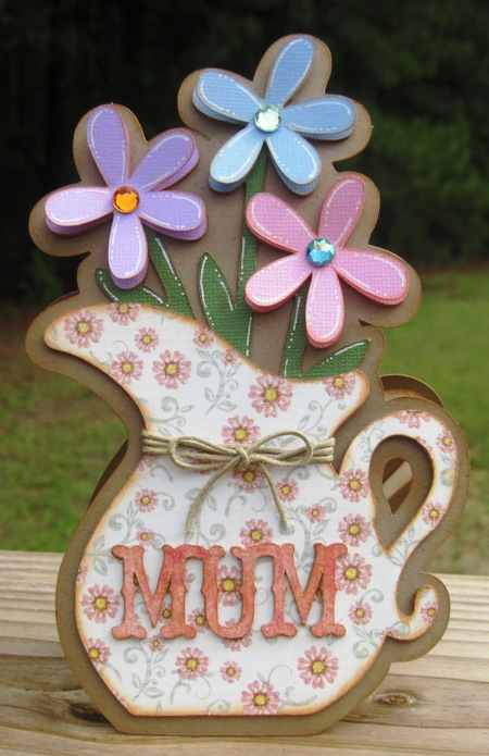 Handmade Card For Mother