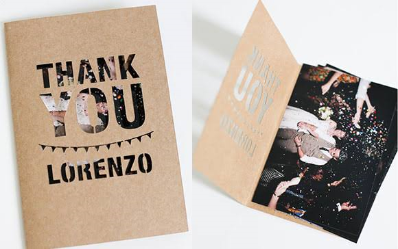 The Most Trending Diy Wedding Thank You Cards