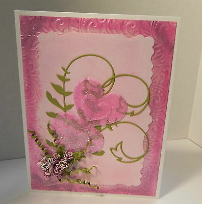 Handmade Greeting Card Valentine day
