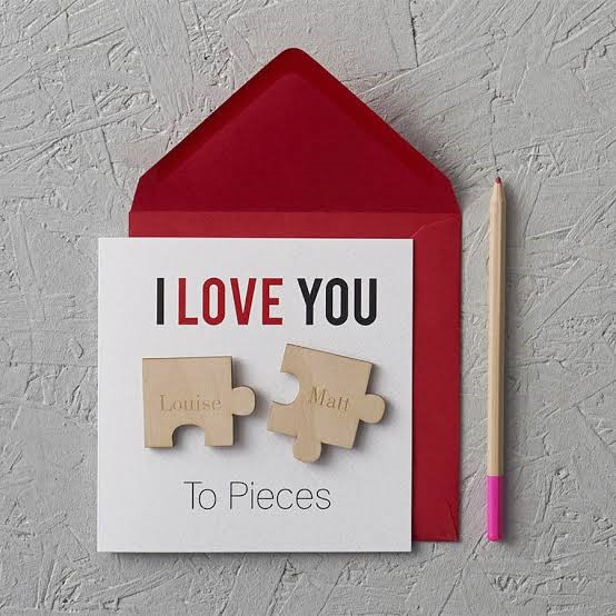 I love you cards for him