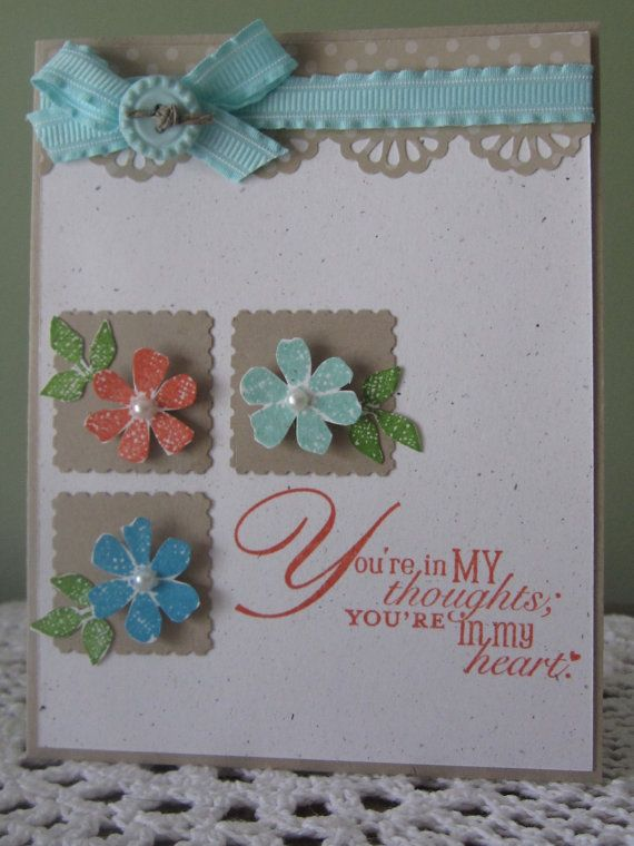 Simple Thinking of You Card