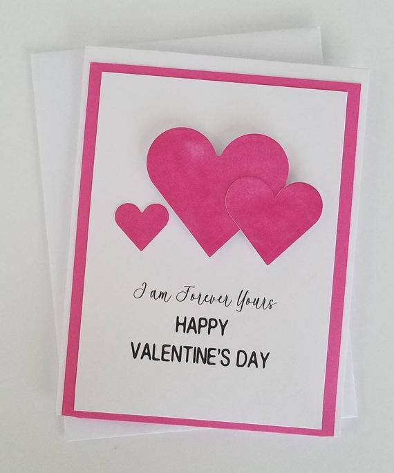simple Homemade Valentine card idea
