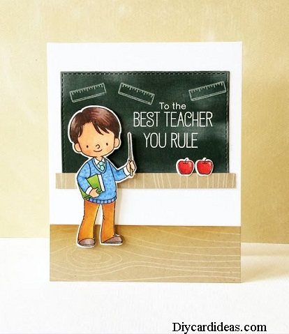 DIY Teachers Day Card Ideas