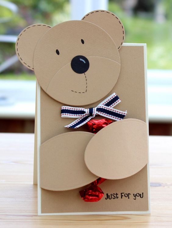 Teddy Bear Card for Boyfriend