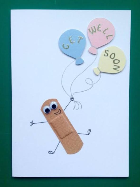 best card for get well soon