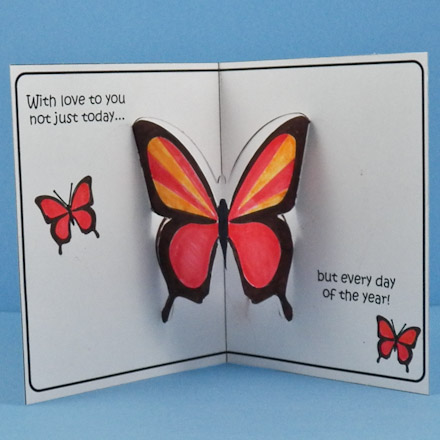 popup card for maothers day