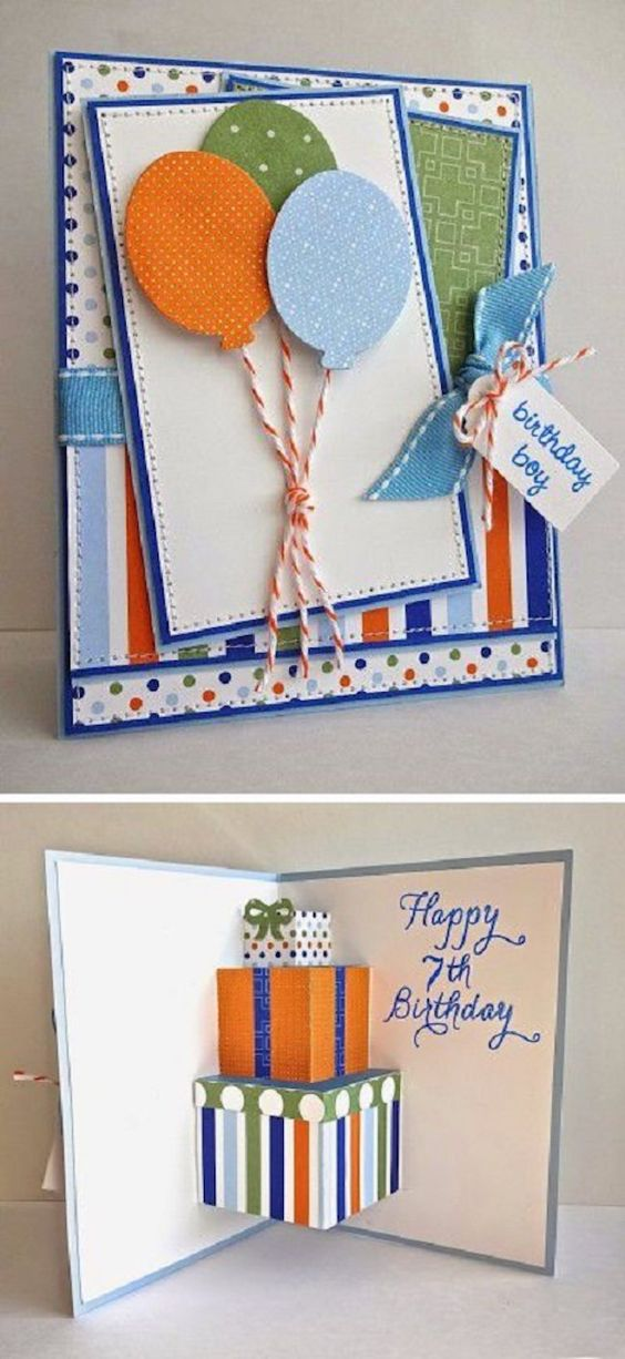 Diy Birthday Card for boyfriend
