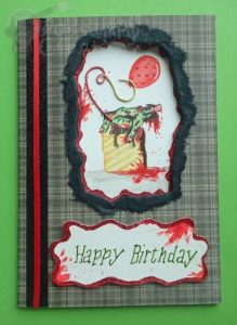 Horror Birthday Card