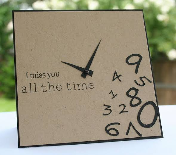 miss you card for him