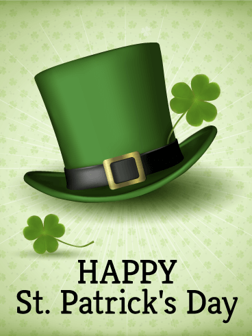 Printable St Patrick Day Card