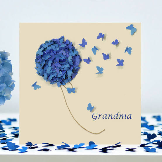 cute card for grandmother