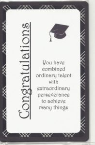 printed card for graduated students, Congratulations Card For Graduation