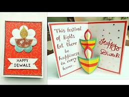Happy Diwali greeting card idea