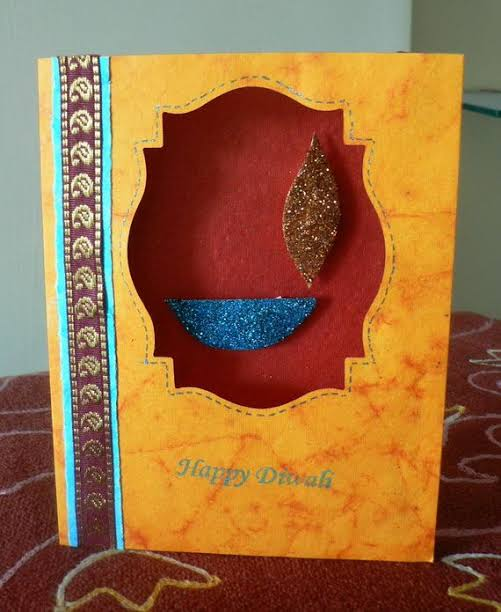 diwali card for family