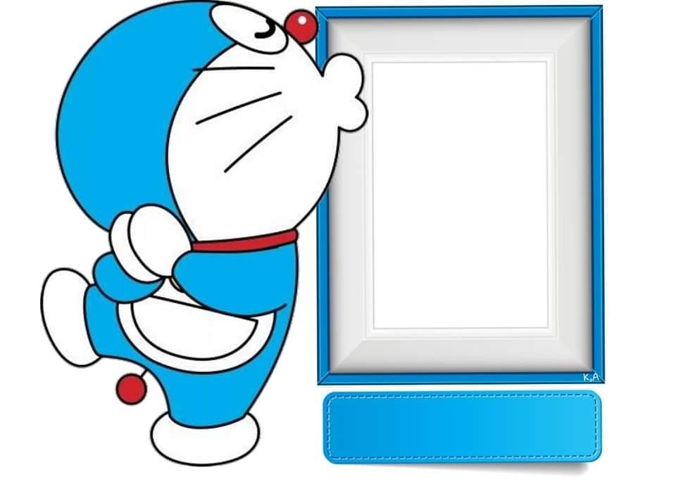 Doraemon Birthday Invitation Card 1
