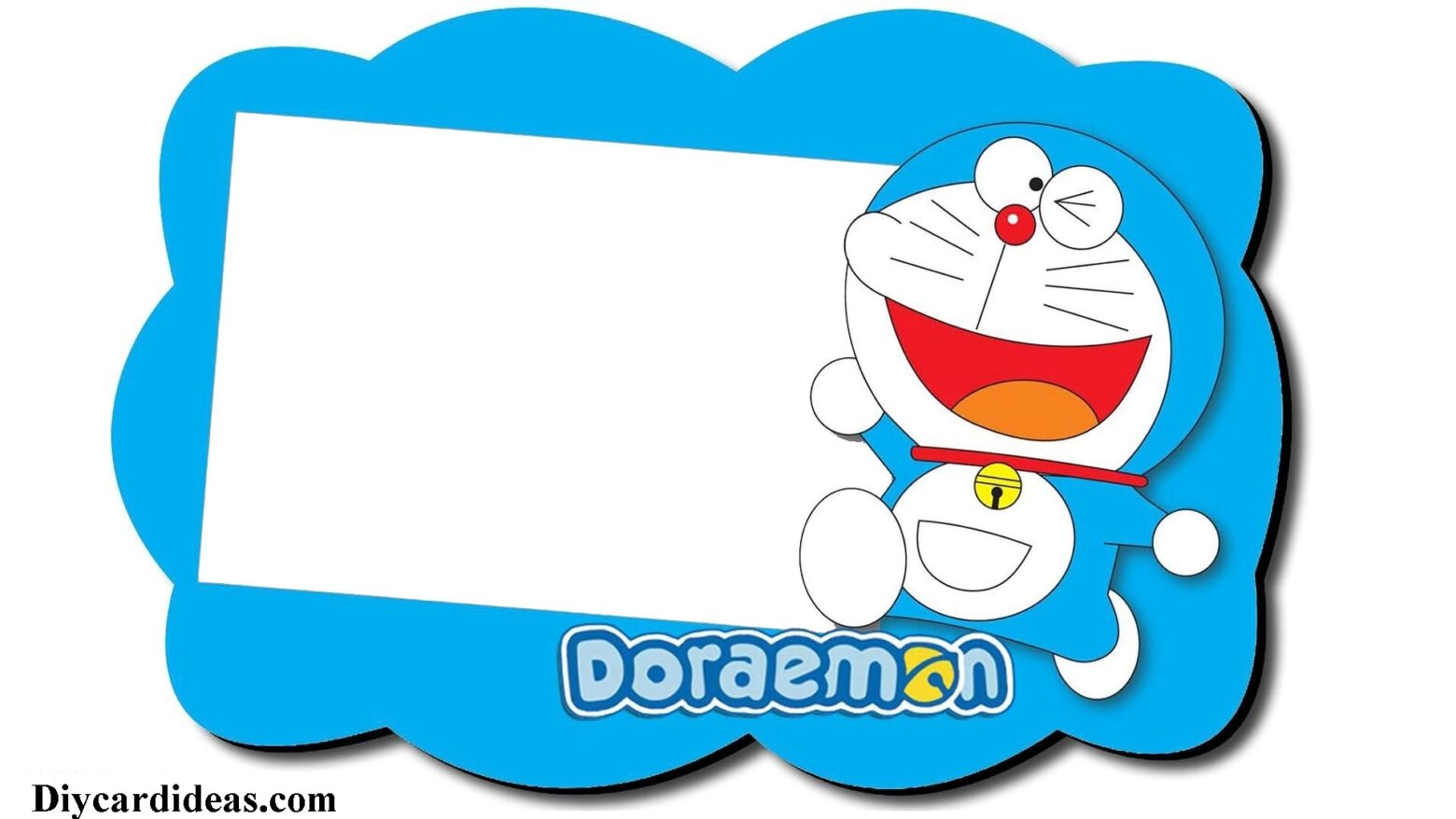 Doraemon Birthday Invitation Card