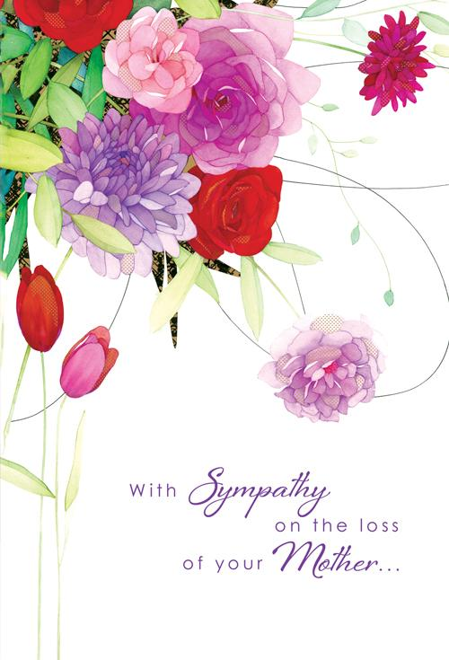 Sympathy Card for Loss of Mother 1