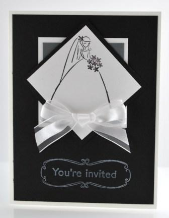 Cute Bridal Shower Card Handmade