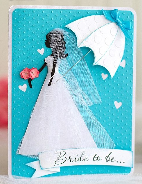 Handmade Bride to Be Card