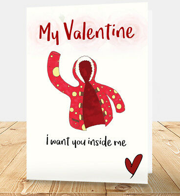 Funny Valentine's Day Quotes Handmade Card 3