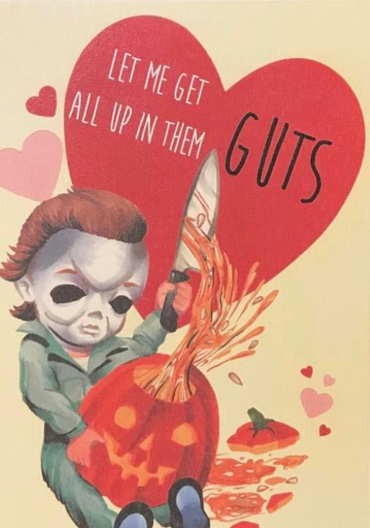 Horror Valentines Cards