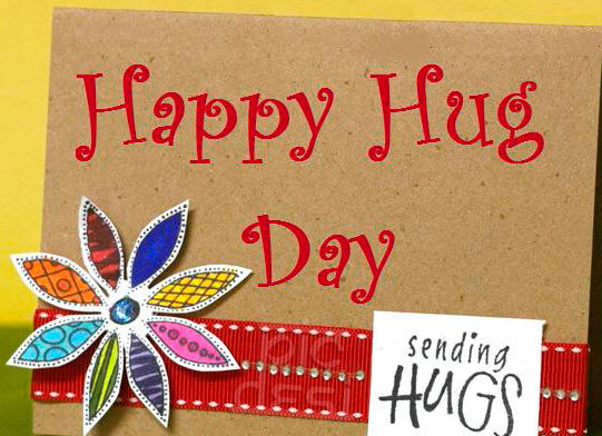 Hug Day Wishes Handmade Card 6