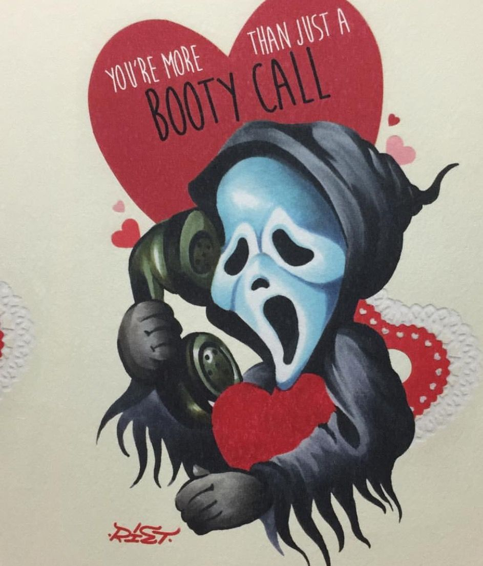 Printable Horror Valentines Cards 3