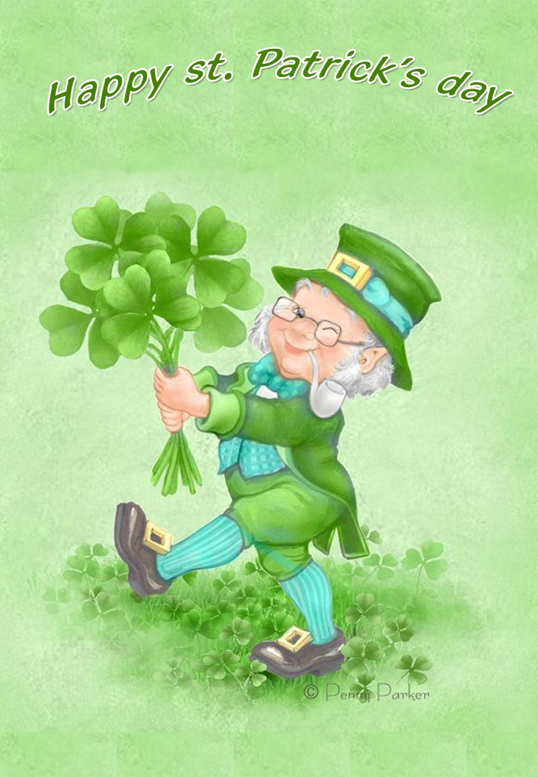 Free Printable St Patricks Day Cards 1