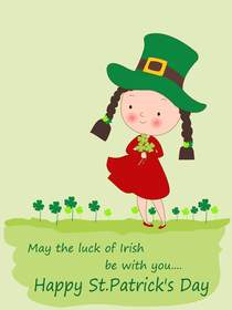 Free Printable St Patricks Day Cards 2